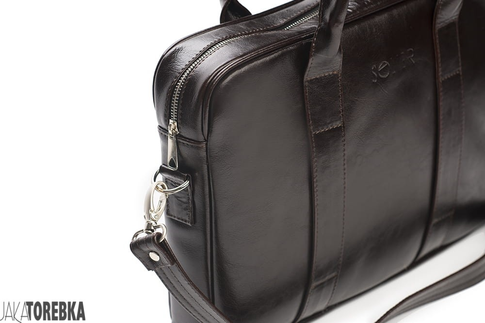 498e11ab0d9b6 Skórzana męska torba na laptopa Edynburg Brązowa - JakaTorebka.pl