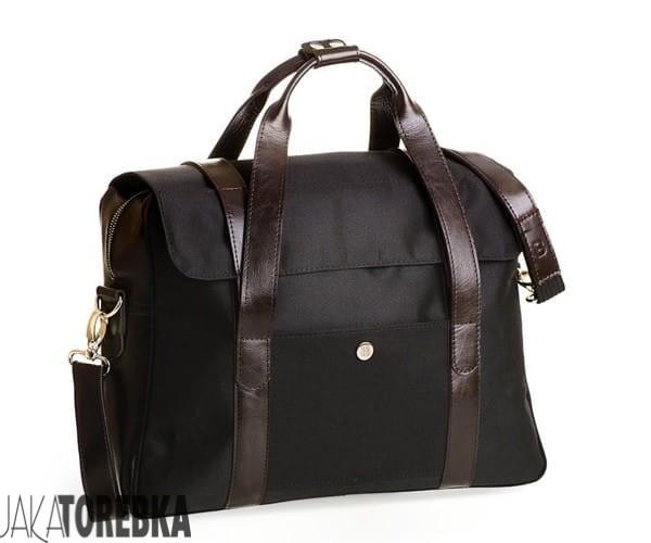 6099076731c53 Stylowa torba męska na ramię czarna - JakaTorebka.pl
